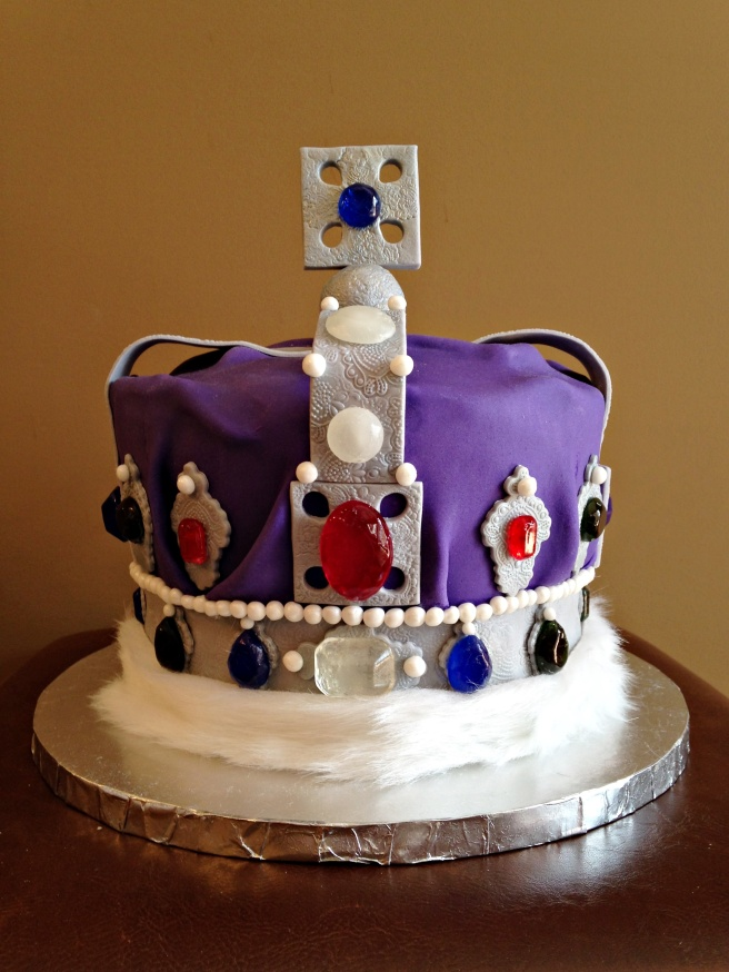 Imperial Crown Cake