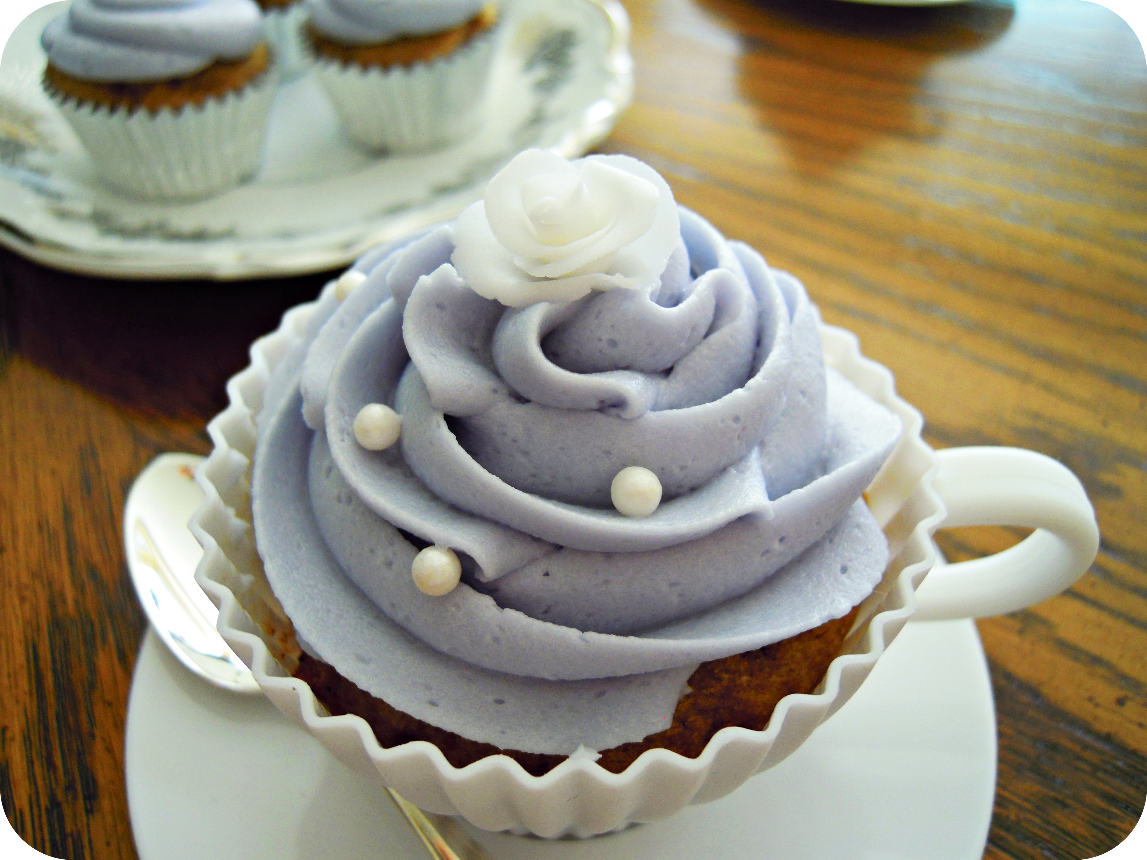 Vanilla Lavender Tea Cake
