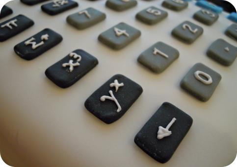 Calculator Cake