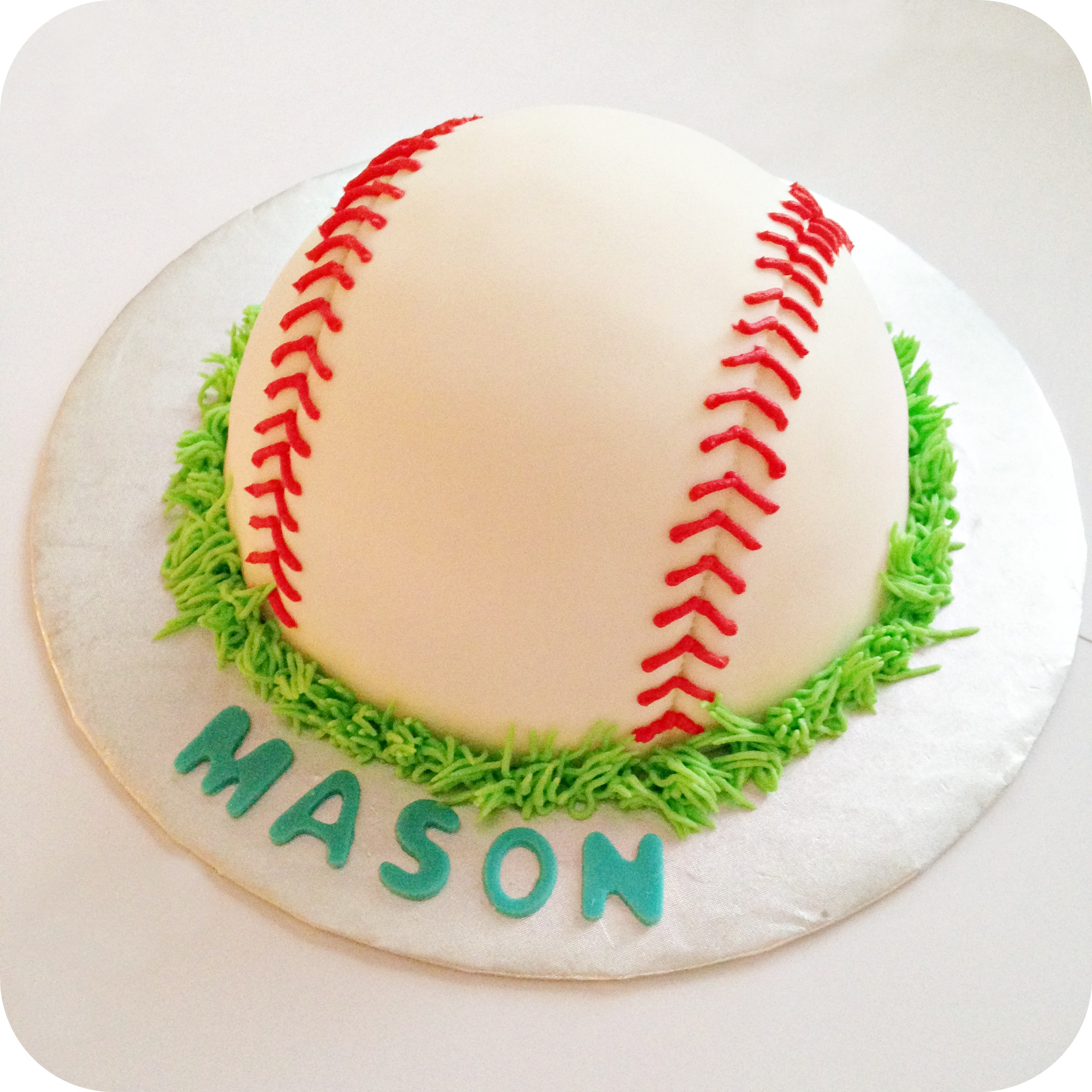 Baseball Theme Cake Smash