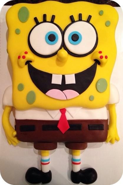 Pictures Of Spongebob Birthday Cakes